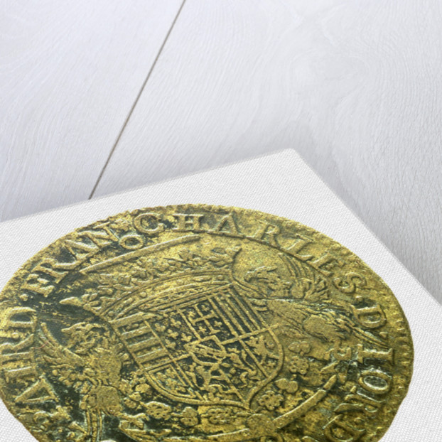 Counter commemorating Admiral Charles de Lorraine, 4th Duc de Guise (1571-1640); obverse by unknown