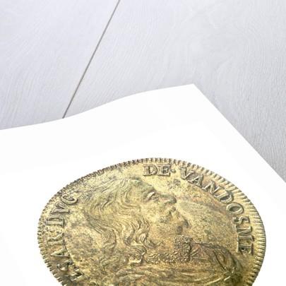 Counter commemorating Admiral César, Duc de Vendôme (1594-1665),  and the capture of Porto Longone [Elba], 1647 by unknown