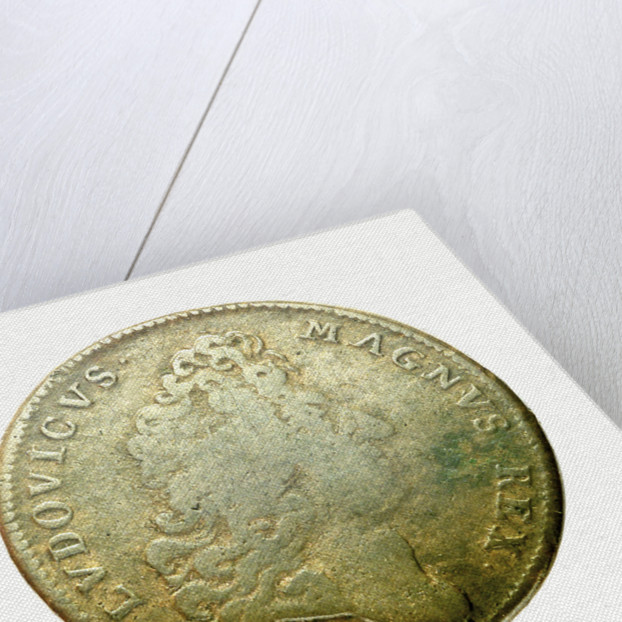 Counter commemorating the Battle of Cartagena, 1697; obverse by J. Nilis