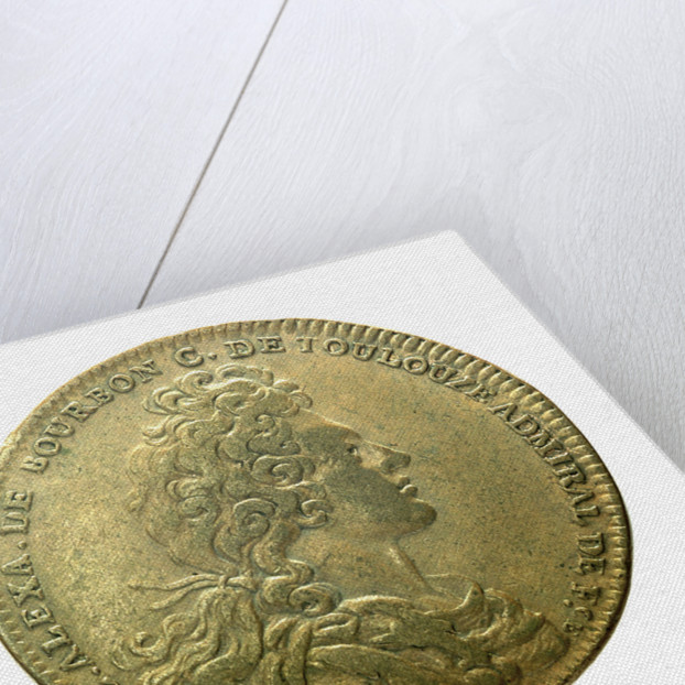 Counter commemorating the terror inspired by the French Fleet; obverse by H. Roussel