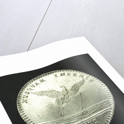 Counter commemorating the cruise of Admiral d'Antin to Morocco, 1738; reverse by unknown