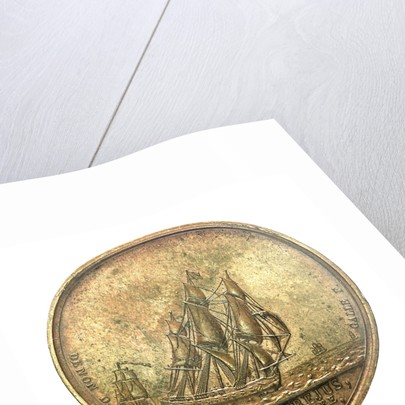 Counter commemorating the landing of Napoleon Bonaparte at Frejus, 1799; reverse by D.V. Denon