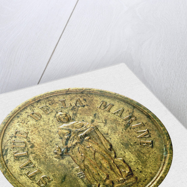 Counter commemorating a Naval Memorial; obverse by unknown