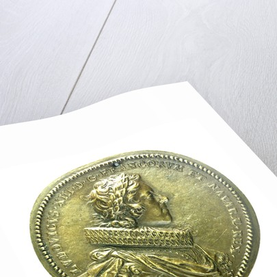 Counter commemorating the Aqueduct of Arceuil; obverse by Guillaume Dupre