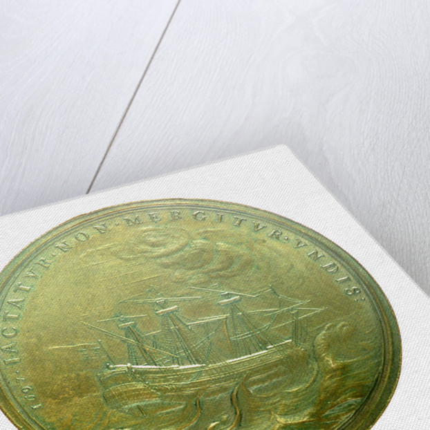Medal commemorating James, Prince of Wales; reverse by N. Roettier