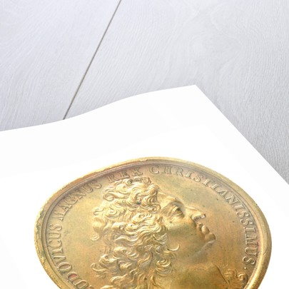 Medal commemorating the capture of Cartagena, 1697; obverse by unknown