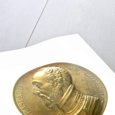 Medal commemorating Admiral Gaspard de Coligny (1516-1572); obverse by R. Gayrard