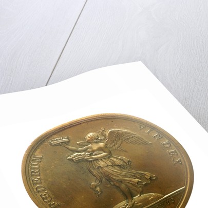 Medal commemorating the capture of Minorca, 1756; reverse by J. Duvivier