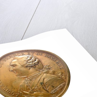Medal commemorating the expedition of 'Boussole' and 'Astrolabe', frigates; obverse by B. Duvivier