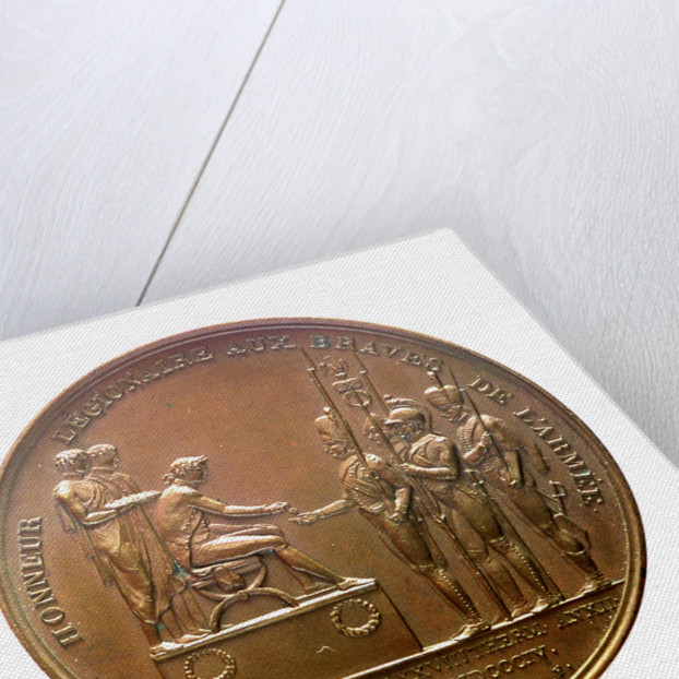 Medal commemorating the camp at Boulogne, and the planned invasion of England, 1804; obverse by D.V. Denon