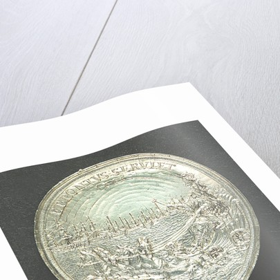 Medal commemorating the dominion of the sea; reverse by T. Simon