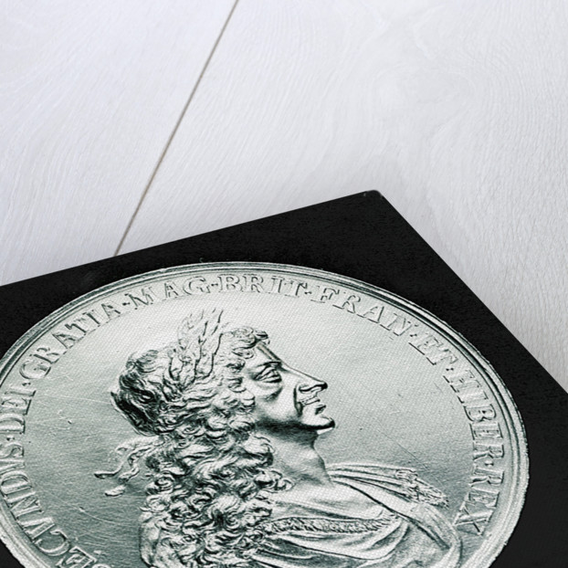 Medal commemorating the Peace of Breda, 1667; obverse by J. Roettier