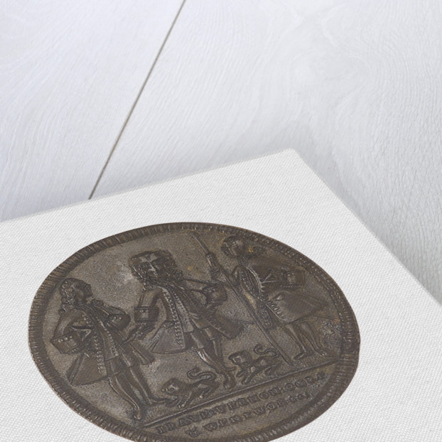 Medal commemorating Admiral Edward Vernon (1684-1757), Admiral Sir Chaloner Ogle (1681?-1750) and General Thomas Wentworth, the attack on Cartagena, 1741 by unknown