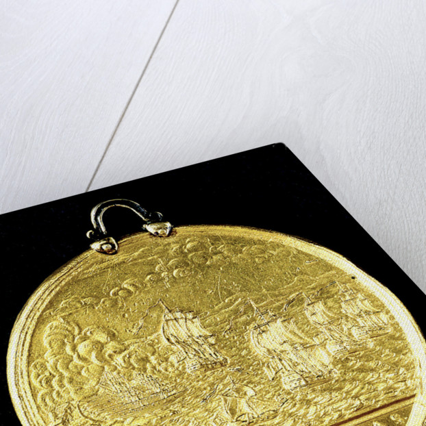 Medal commemorating the Spanish galleys destroyed, 1742; reverse by Thomas Pingo
