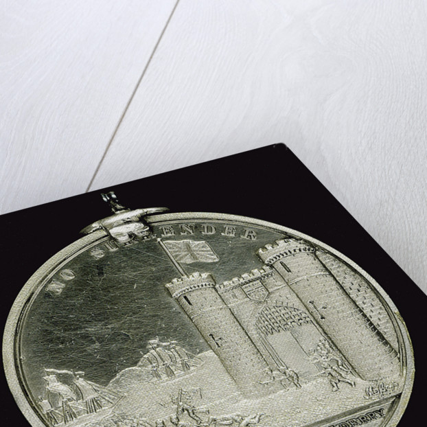 Medal commemorating the siege of Londonderry, 1688; reverse by W.S. Mossop