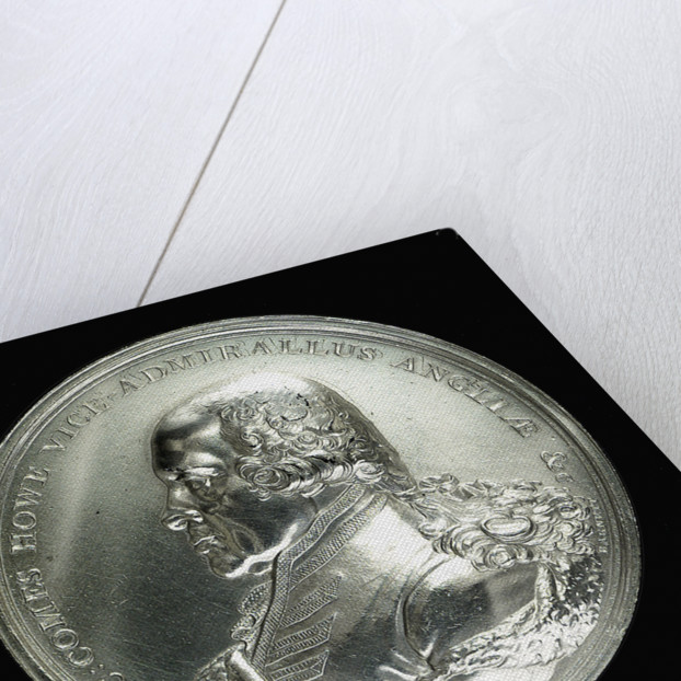 Medal commemorating the Battle of the Glorious First of June, 1794; obverse by W. Barnett