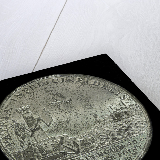Medal commemorating the landing in Holland, 1799 and Sir Ralph Abercromby (1734-1801); reverse by unknown