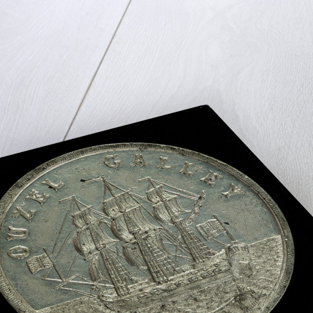 Medal commemorating the 'Ouzel Galley' Society, 1700; reverse by unknown