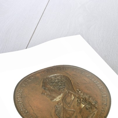 Medal commemorating Earl Spencer First Lord of the Admiralty (1758-1834); obverse by T. Wyon