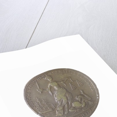 Medal commemorating the re-establishment of Ferdinand IV at Naples, 1799 and Viscount Nelson Duke of Bronte by Heinrich Kuchler