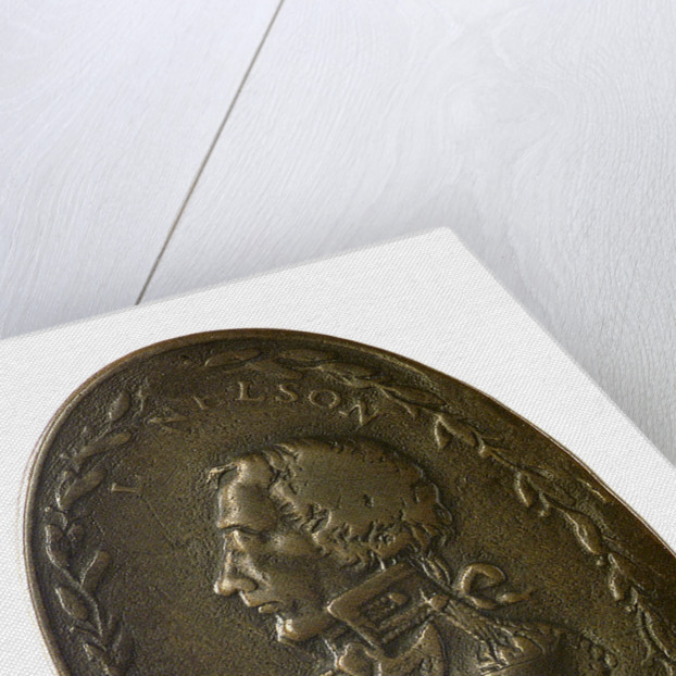 Counter commemorating Vice-Admiral Horatio Nelson (1758-1805); obverse by unknown