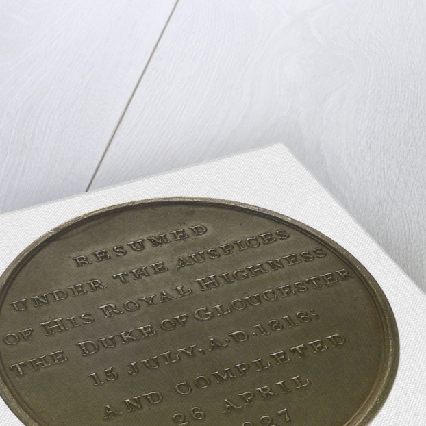 Medal commemorating the Gloucester and Berkeley Canal; reverse by T. Halliday