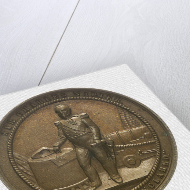 Medal commemorating Admiral Sir Charles Napier (1786-1860); obverse by Allen & Moore