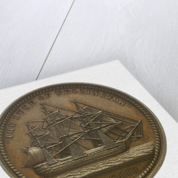 Medal commemorating Admiral Sir Charles Napier (1786-1860); reverse by Allen & Moore