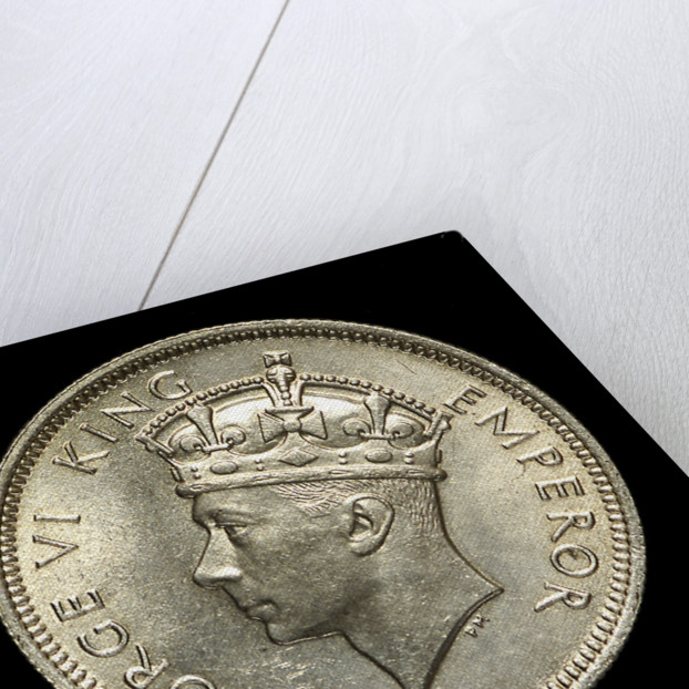 Shilling; obverse by unknown