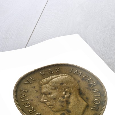 Penny; obverse by unknown
