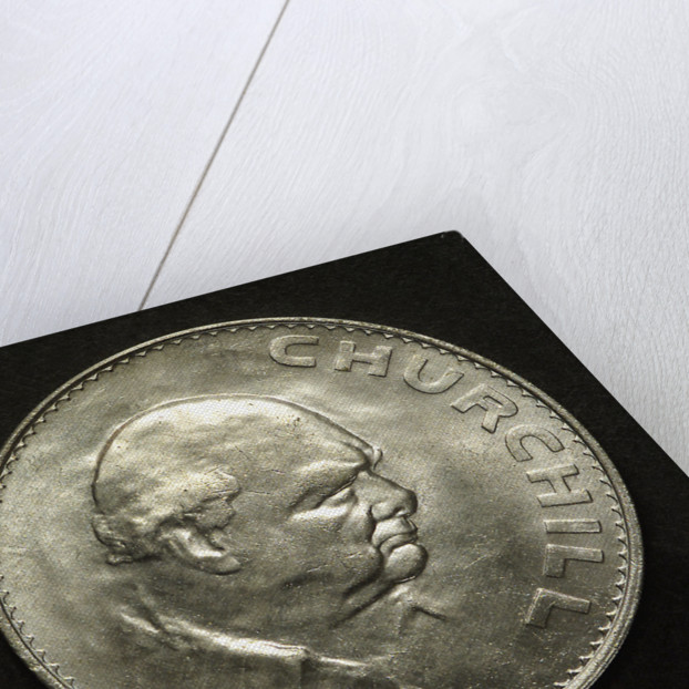 Sir Winston Churchill; reverse by unknown
