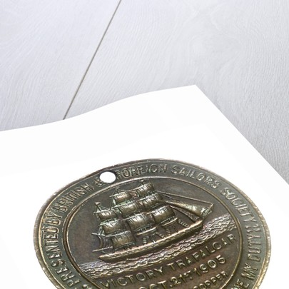 Medal commemorating the British and Foreign Sailors Society; reverse by unknown