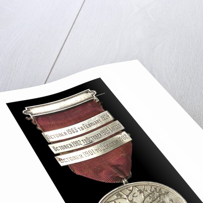 Medal commemorating HMS 'Argonaut', China Station; obverse by unknown