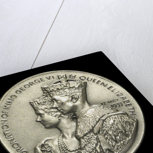 Medal commemorating the Coronation of George VI, 1937; obverse by Spink & Son Ltd.