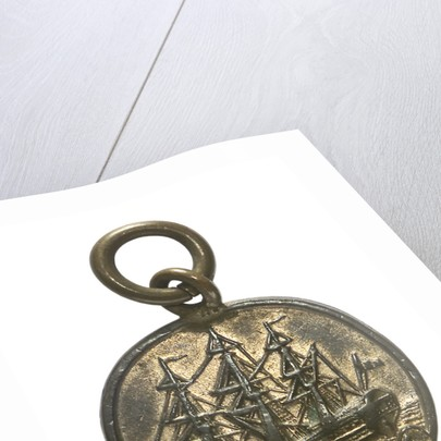 Medal commemorating the wreck of HMS 'Foudroyant', 1897; obverse by unknown