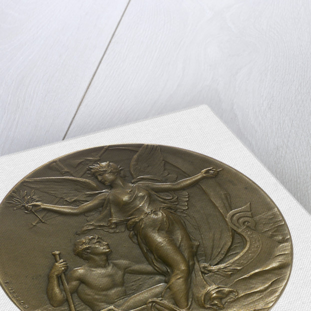 Medal commemorating the Yacht Club of France; obverse by F. Vernon
