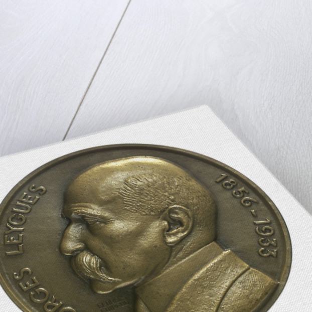 Medal commemorating Georges Leygues (1856-1933) and the cruiser 'Georges Leygues'; obverse by Georges Guiraud
