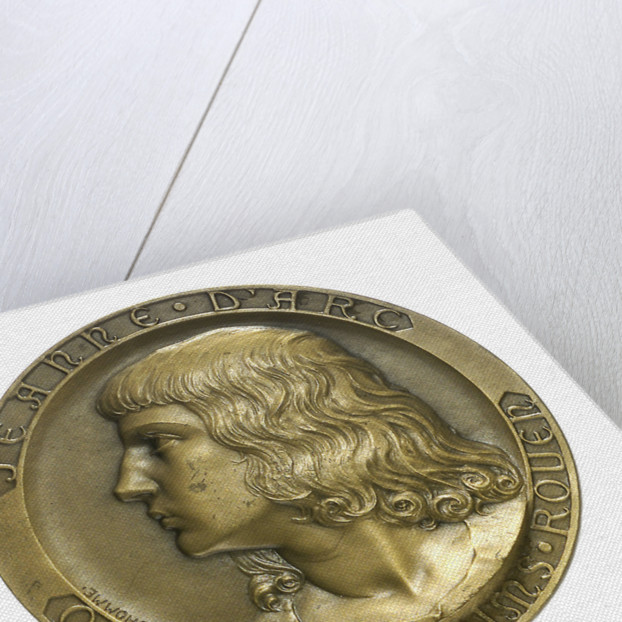 Medal commemorating the school cruiser 'Jeanne d'Arc'; obverse by Georges Henri Prud'homme