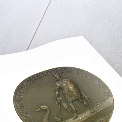 Medal commemorating the SS 'Amstelstroom' torpedoed, 1917; obverse by unknown