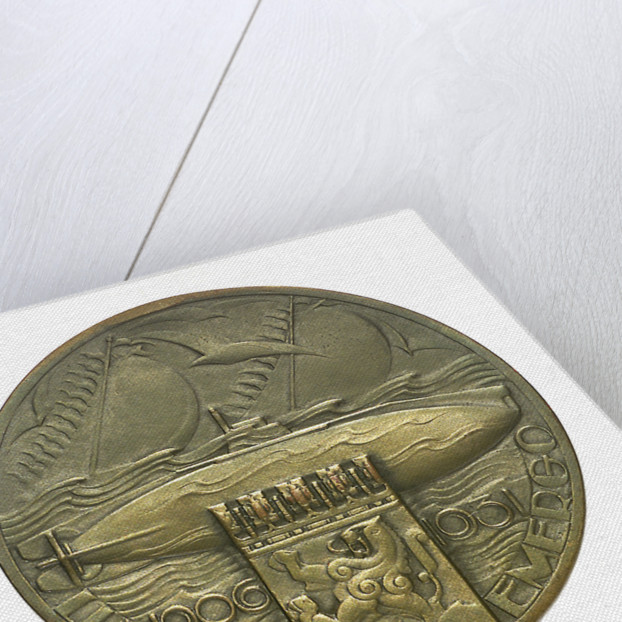 Medal commemorating the 25th anniversary of the Dutch submarine service; reverse by unknown