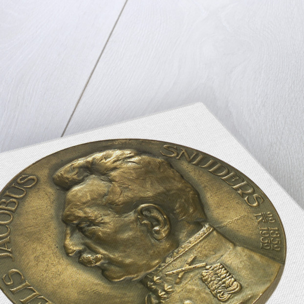 Medal commemorating Admiral and General C. J. Snijders (1852-1932); obverse by T. Dupuis