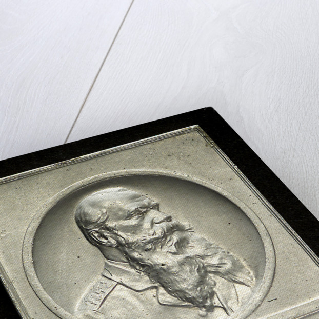 Memorial plaque commemorating Admiral Makarov and the sinking of the Petropavlovsk, 1904; obverse by unknown