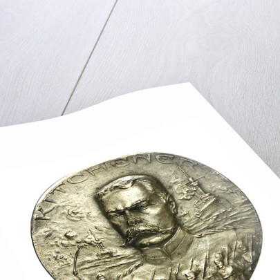 Medal commemorating the death of General Lord Kitchener, 1916+; obverse by H. Huguenin