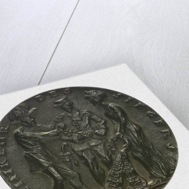 Medal commemorating the sinking of 'U27' by Q-ship 'Baralong', 1915; obverse by Karl Goetz