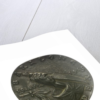 Medal commemorating the sinking of 'U27' by Q-ship 'Baralong', 1915; reverse by Karl Goetz