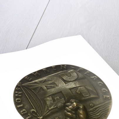 Medal commemorating the sinking of 'U41' by Q-ship 'Baralong', 1915; obverse by Karl Goetz