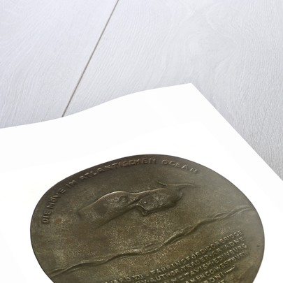 Medal commemorating the Captain of SMS 'Möwe', Graf Dohna Schlodien by F. Liebkuchler