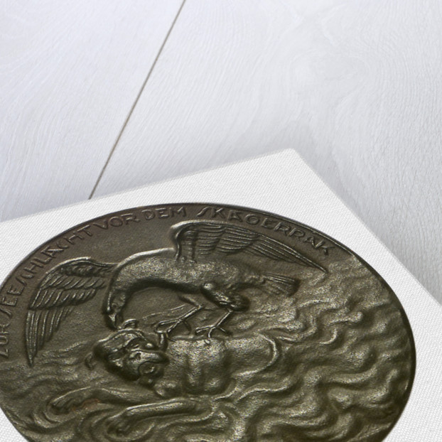 Medal commemorating the Battle of Jutland, 1916; obverse by H. Lindl