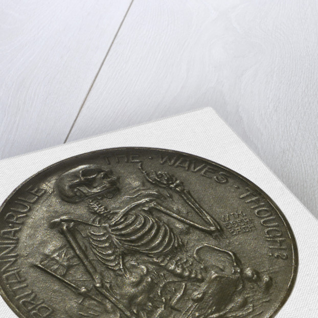 Medal commemorating Admiral John Arbuthnot Fisher (1841-1920), First Sea Lord; obverse by W. Eberbach