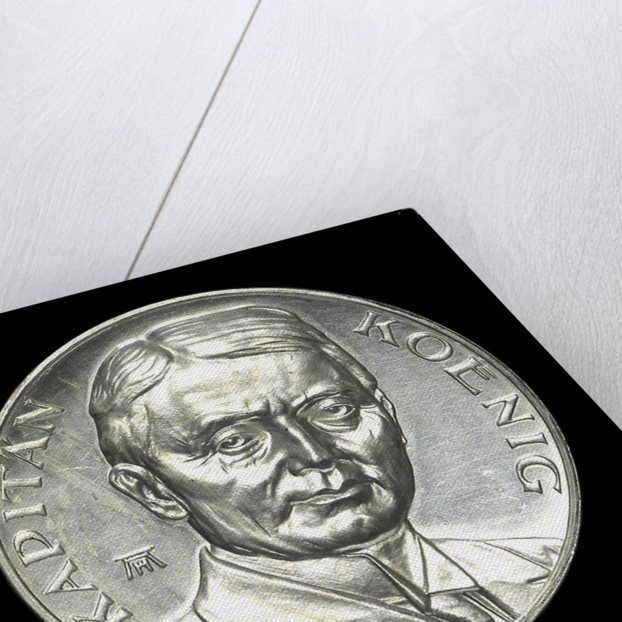 Medal commemorating Captain Paul König and the submarine 'Deutschland' by August Hummel